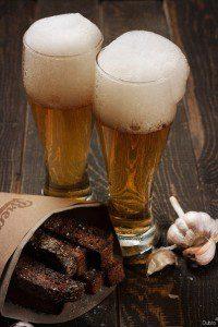гренки и пиво